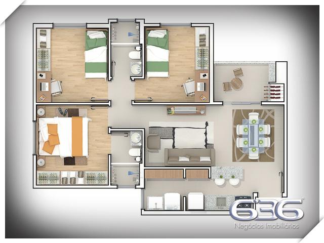 imagem-Apartamento-Adhemar Garcia-Joinville-01025777